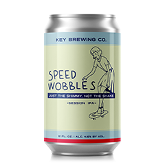 SPEED WOBBLES  SESSION IPA | ABV. 4.6%